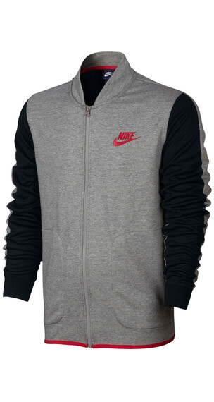 Nike Advance 15 Jacket Men dark grey heather/black/university red